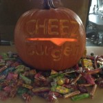 Cheezburger Pumpkin